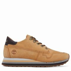 Timberland Antwerp Air Leather Trainer Dam Sneakers Gula Bruna [16864TFE]