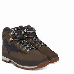 Timberland Euro Hiker Leather Boot Dam Vandringsskor Bruna [42941AWG]