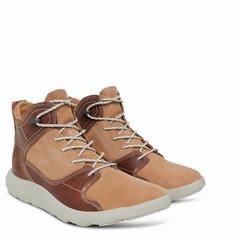 Timberland Flyroam Leather Sport Chukka Herr Sneakers Bruna MörkBruna [23244HZJ]